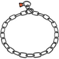 Sprenger - Halskette, medium - Edelstahl Rostfrei schwarz, 3,0 mm
