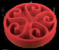 Eat Slow Live Longer Original blau S